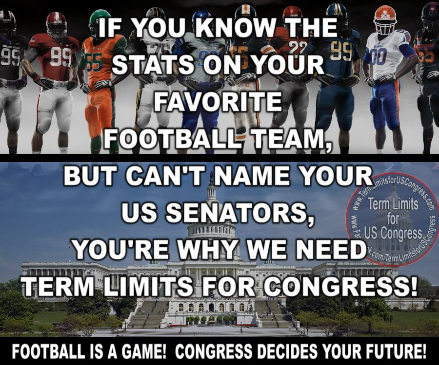 Terms for congress